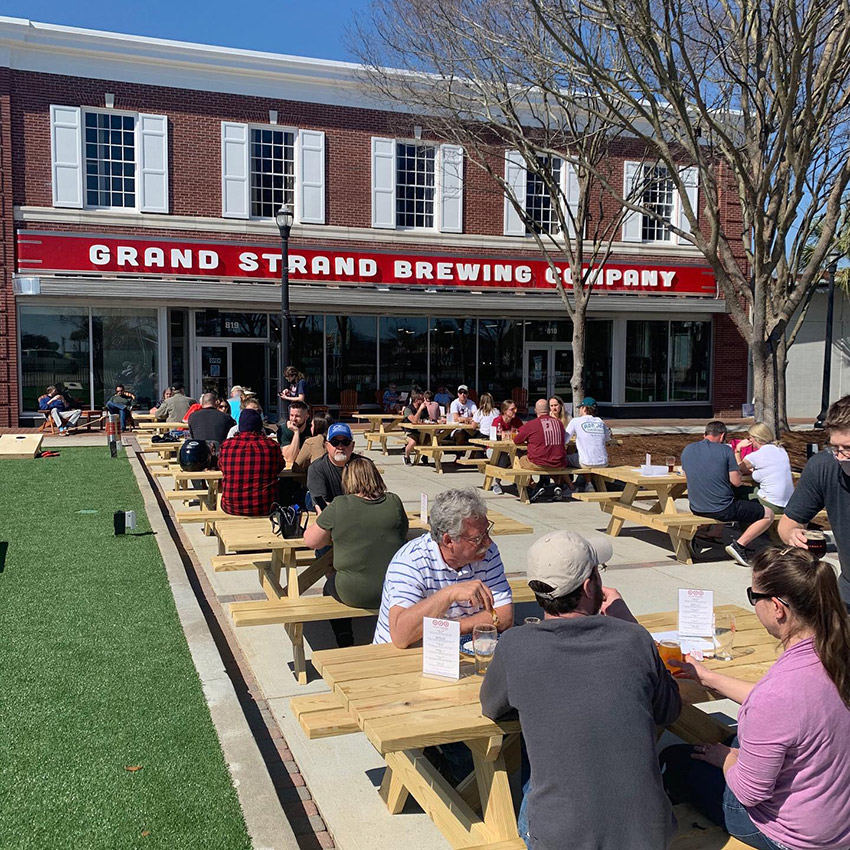 Grand Strand Brewery near Sandy Beach Resort